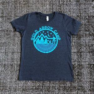 Gold Arrow Camp T-shirt Youth Sz. Lg